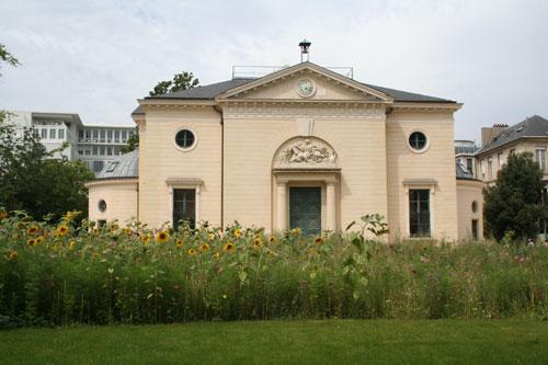 L'amphithéâtre du Jardin des Plantes