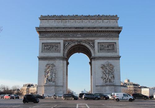 L' Arc de Triomphe de l'Etoile