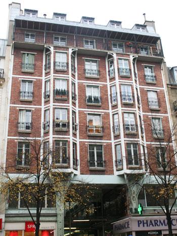 La Cité de l'Argentine - Immeuble sur rue