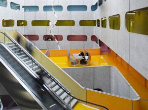 L'Atrium M16 de Jussieu - Le vide central
