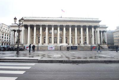 Le palais Brongniart - La Bourse