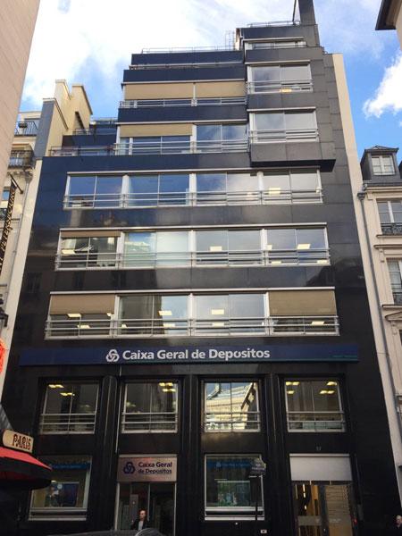 Immeuble de bureaux Rue de Caumartin