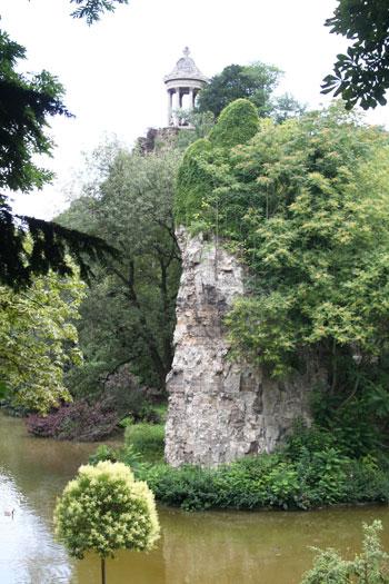 Le parc des Buttes-Chaumont - Le lac