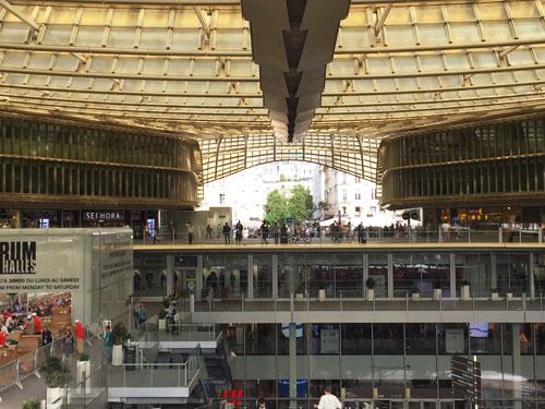 La canopée et le Forum des Halles