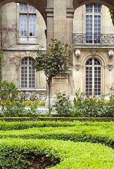 L'hôtel Carnavalet - Le jardin