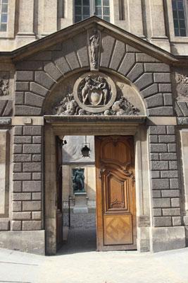 L'hôtel Carnavalet : portail d'entrée