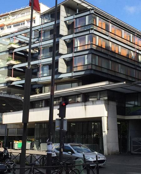 La nouvelle caserne Saint-Fargeau