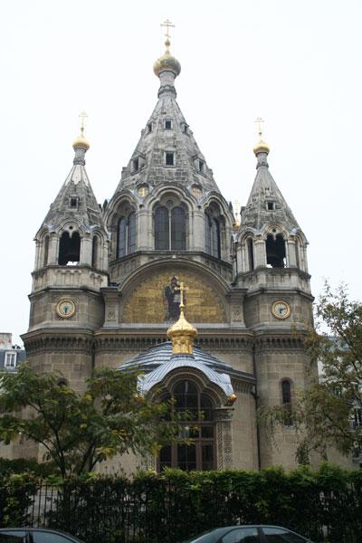 La cathédrale russe Saint-Alexandre-Newski