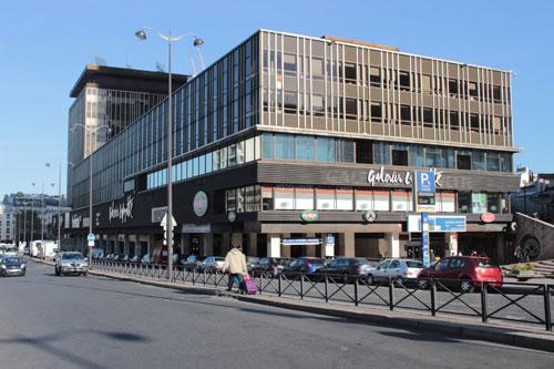 Le centre commercial Montparnasse