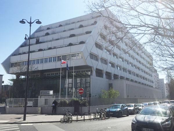Hôtel des Impots Rue Paganini