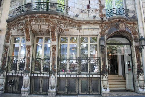 Le Céramic Hôtel - Détail du rez-de-chaussée
