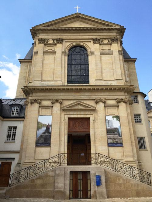 La chapelle du séminaire des Missions Etrangères