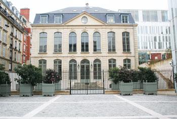 L'hôtel de Choiseul-Praslin - La façade donnant sur la rue de Sèvres