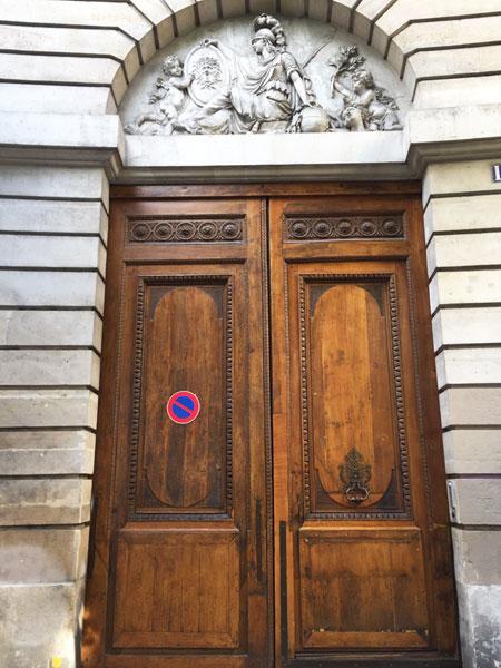 Le portail du n° 136 rue Amelot