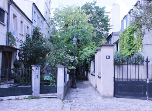La cité de l'Ermitage