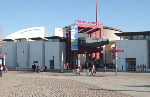 La Cité de la Musique - Les espaces dédiés au public