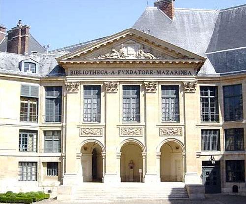 Le collège des Quatre-Nations : la façade sur la cour