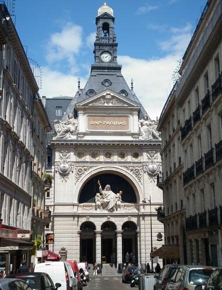 Le Comptoir National d'Escompte de Paris - La façade