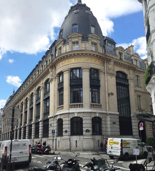 Le Comptoir National d'Escompte de Paris