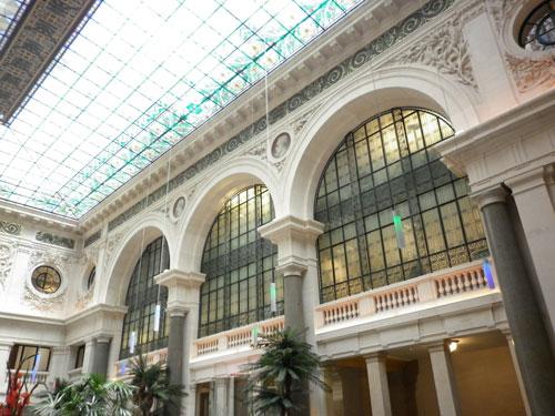 Le Comptoir National d'Escompte de Paris - Le grand hall