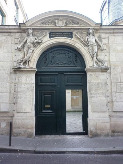 L'hôtel de la Confrérie des Chirurgiens - Le portail