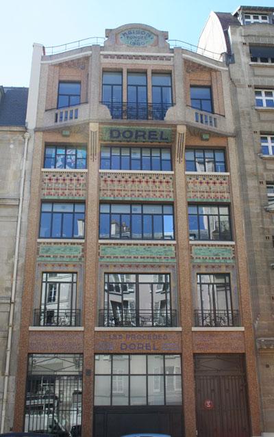L'immeuble des Procédés Dorel