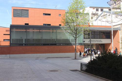 Ecole maternelle square Alban Satragne