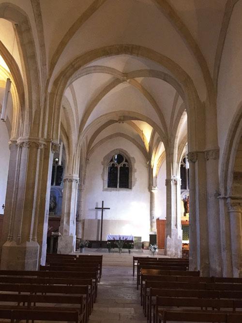 L'église Saint-Germain de Charonne : la nef