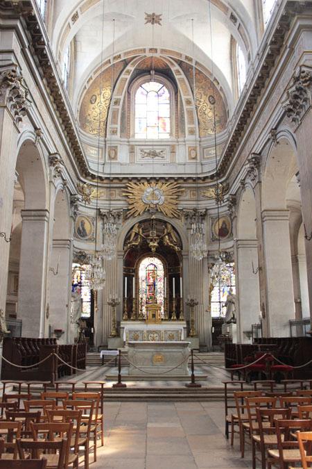 L'église Saint-Paul-Saint-Louis : le chœur