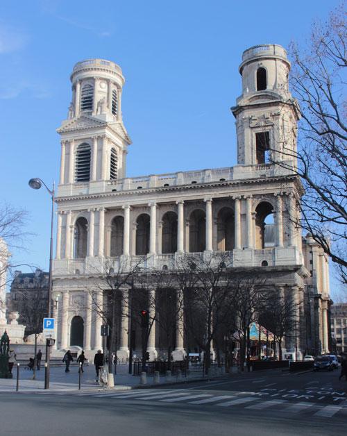 L'église Saint-Sulpice