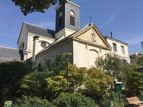 L'église Sainte-Marguerite