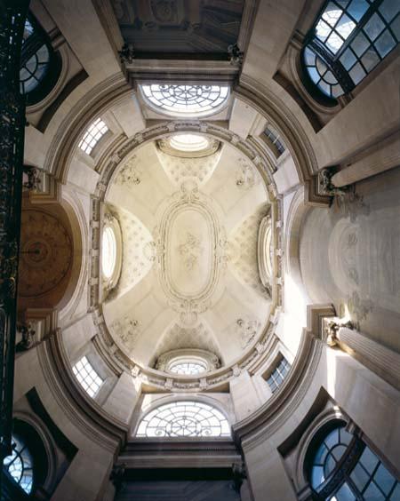 Le Palais-Royal - La coupole de l'escalier d'honneur