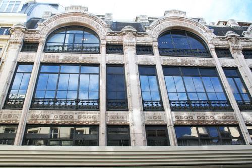 Galeries Lafayette - Façade mi-indou mi-arabe