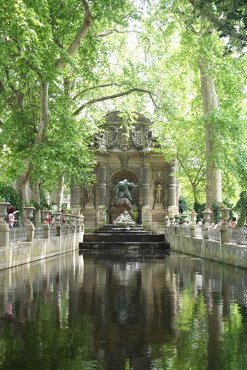La fontaine Médicis - jardin du Luxembourg