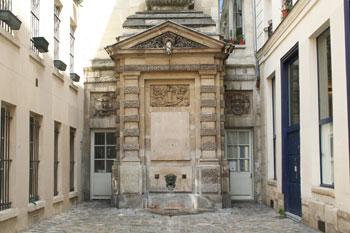 La fontaine de la Poissonnerie