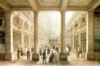 Palais-Royal - La galerie d'Orléans (détruite)