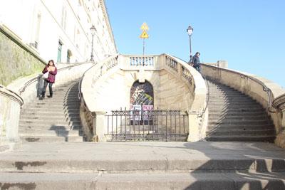 Gare de l'Est - L'escalier