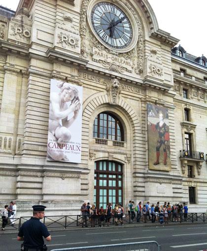 La gare d'Orsay - pavillon avec horloge