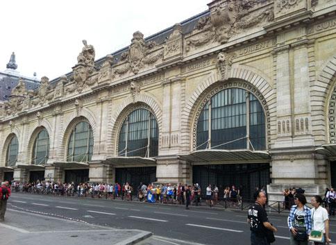La gare d'Orsay - Les 7 arcades