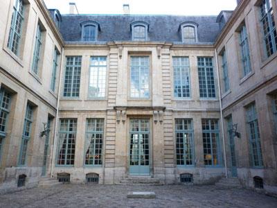 L' Hôtel de Guénégaud : façades sur cour