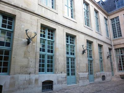 Aile gauche de l'hôtel de Guénégaud
