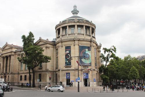 Le Musée Guimet : la rotonde d'angle