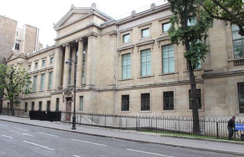 Le Musée Guimet - façade latérale