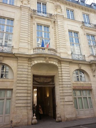Hôtel de Beauvais - Façade sur rue