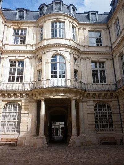 Hôtel de Beauvais - Façade sur cour