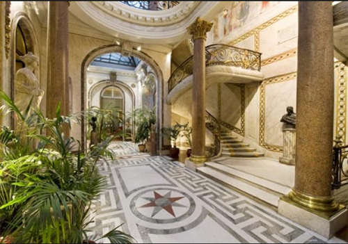 Le Musée Jacquemart-André : l'escalier d'honneur