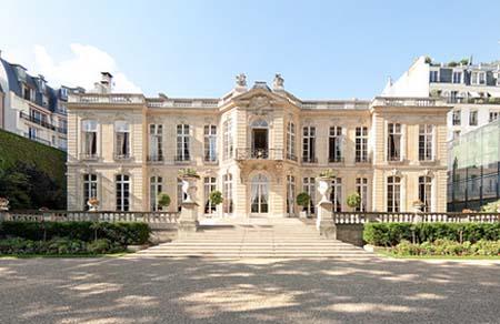 L'hôtel de Matignon - Façade sur jardin