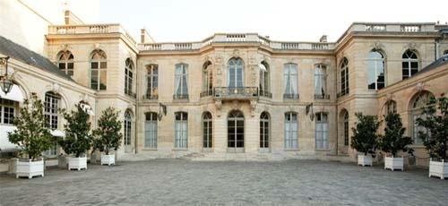 L'hôtel de Matignon - Façade sur cour