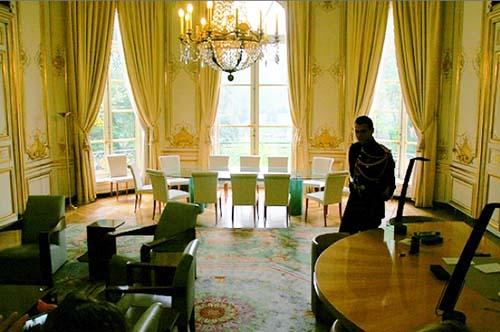 L'hôtel de Matignon - Bureau du Premier Ministre