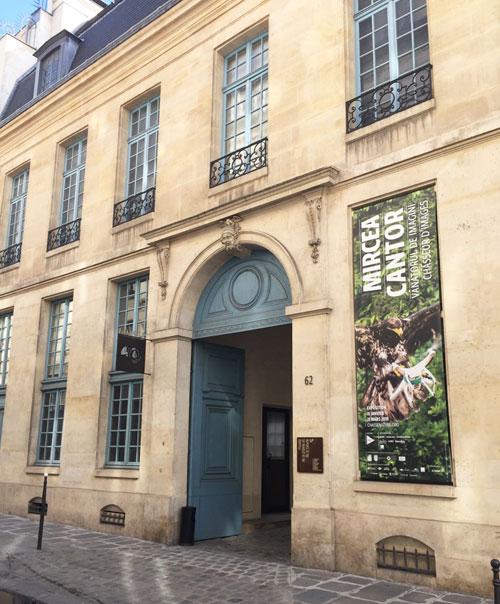 L'hôtel de Mongelas : la façade sur rue